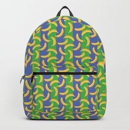 Glamorous Bananas (Green & blue) Backpack