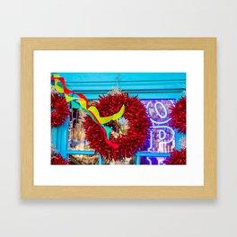 Albuquerque Chillies. New Mexico. USA Framed Art Print