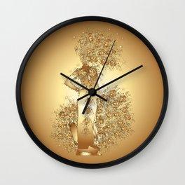 Carnival Woman Wall Clock