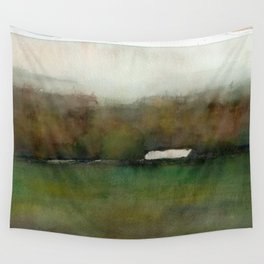 Distant Shelter Wall Tapestry