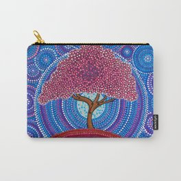 The Sakura Tree Carry-All Pouch