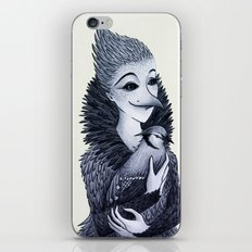 Blue Jayne iPhone & iPod Skin