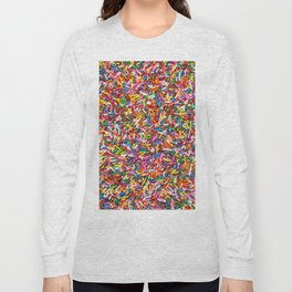 Rainbow Sprinkles Sweet Candy Colorful Long Sleeve T-shirt