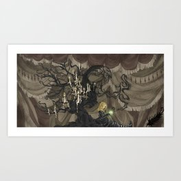 Midnight Circus: The Fortune Teller Art Print