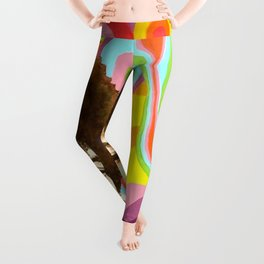 Jimi Hendrix (Peace & Love) Leggings