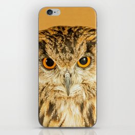 OWL RIGHT ON THE NIGHT iPhone Skin
