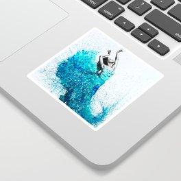 Tropical Reef Dance Sticker