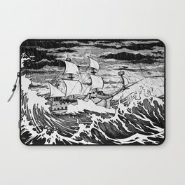 Galleon (line) Laptop Sleeve