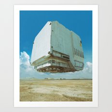 BOXXX-3W (everyday 07-01-15) Art Print