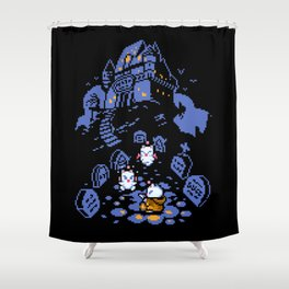 Moogle halloween Shower Curtain