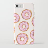 donut iPhone & iPod Cases featuring Donut by Ceren Aksu Dikenci