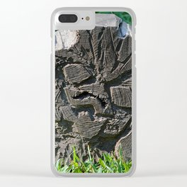 looks like a bird Clear iPhone Case