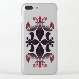 Space Mandala no6 Clear iPhone Case