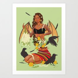Manananggal Art Print