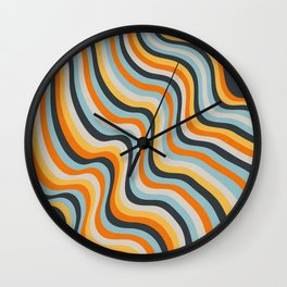 Dancing Lines Wall Clock
