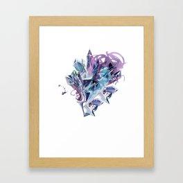 Liquid Crystal Framed Art Print