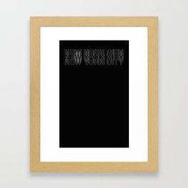 NYC_001 Framed Art Print