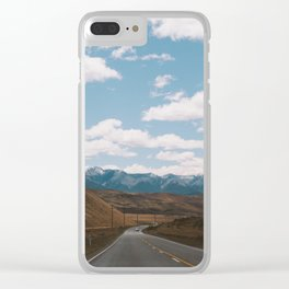 Road to Arthur's Pass I Clear iPhone Case