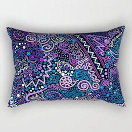 Trip the Light Electric Rectangular Pillow