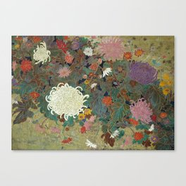 flower【Japanese painting】 Canvas Print