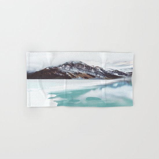 Canadian Mountains Hand & Bath Towel