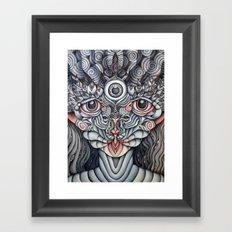 Dreamtime Companion Framed Art Print