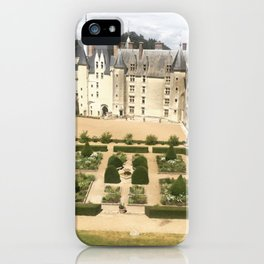 French Medieval Castle iPhone Case
