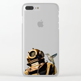 Cosmonaut Clear iPhone Case
