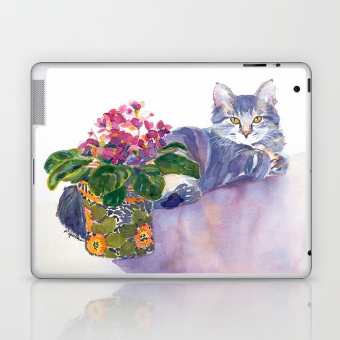 Table for Two Laptop & iPad Skin