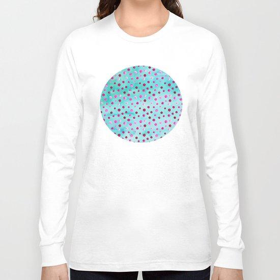 Polka Dot Pattern 05 Long Sleeve T-shirt