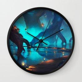Magical Swamp Wall Clock