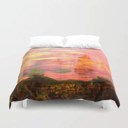Fire Duvet Cover