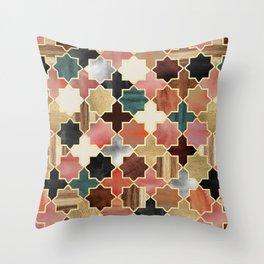 Twilight Moroccan Throw Pillow