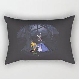 Not again, Alice! Rectangular Pillow