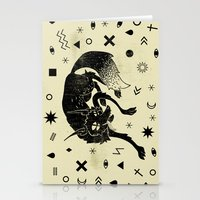 wolf Stationery Cards featuring Wolf by Anya Volk