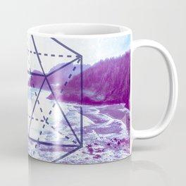 The Elements Geometric Nature Element of Water Coffee Mug
