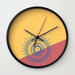 Circles #2 Wall Clock