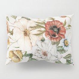 Wildflower Bouquet Pillow Sham