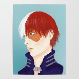 Shouto Todoroki Poster