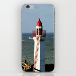 Lady Bay Lower Lighthouse  iPhone Skin