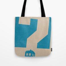 Doctor  Who? Tote Bag