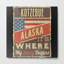 Kotzebue Alaska Metal Print
