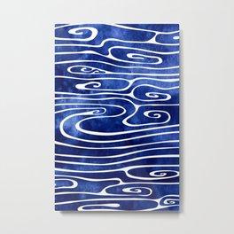Tide III Metal Print