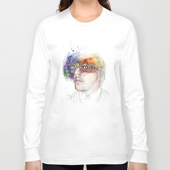 Seeing the world in different colours Long Sleeve T-shirt