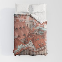 Prague, Czech Republic Travel Artwork Comforters
