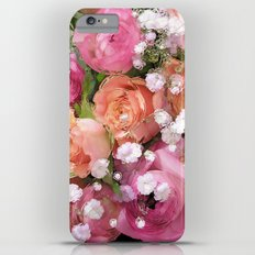 Baby's Breath and Candy Roses iPhone 6 Plus Slim Case