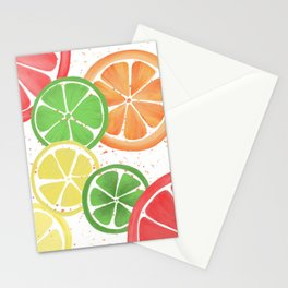Citrus Party Stationery Cards