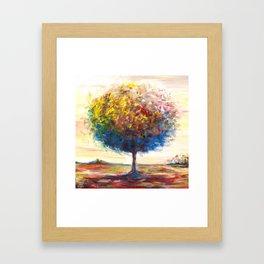 Tree landscape Framed Art Print