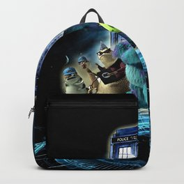 Tardis of monster inc Backpack