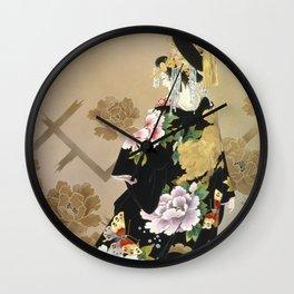 Haruyo Morita - Echigo Dojouji Wall Clock